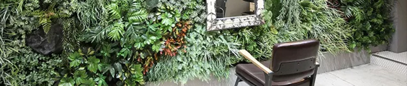 DecoPla イミテーションプランツ専用壁面緑化システム